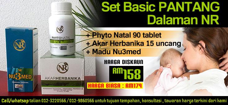 Set Basic PANTANG Dalaman NR - RM158