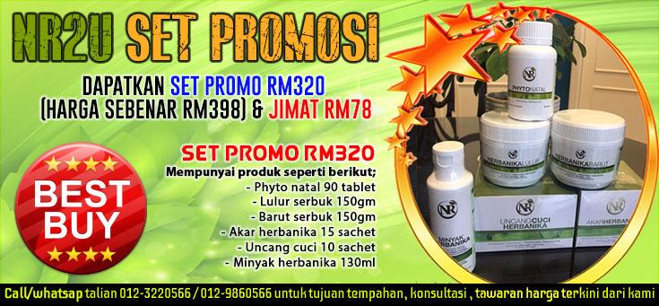 Set Promo NR2U.com RM320